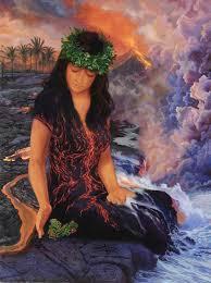 Goddess H'iiaka Protecting her Beloved Trees. elblogdenoraya