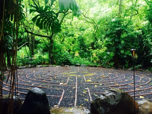 Sacred Garden Labyrinth walk