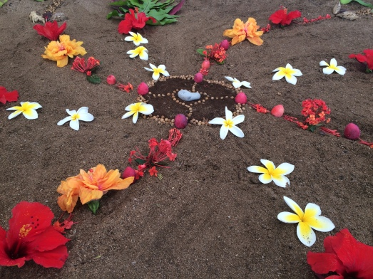 Dancing Star pattern/cosmos blessing, Maui