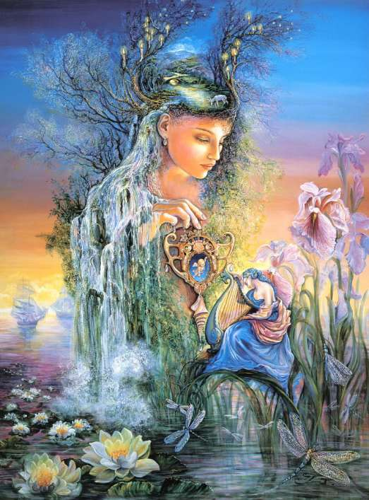 The  talented Josephine Wall